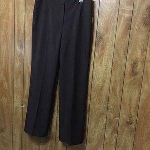 Kasper Dress Pants Size 12 Brown Color